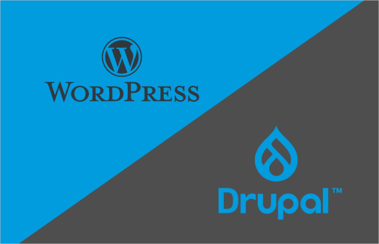 WordPress vs Drupal : comparaison des CMS