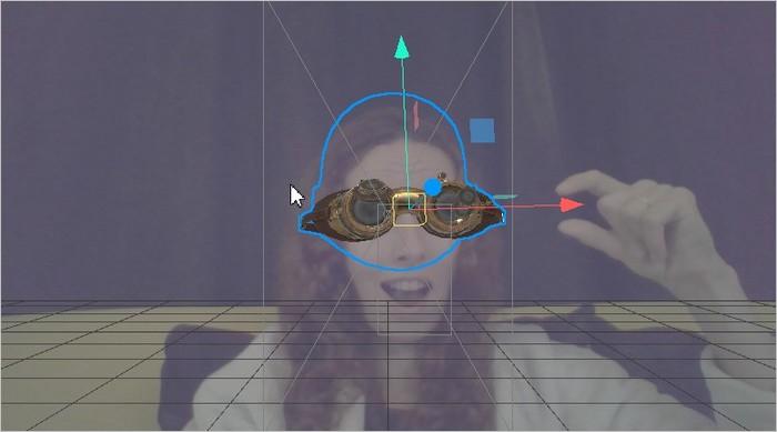 Modifier la position d'un objet sur Spark AR Studio