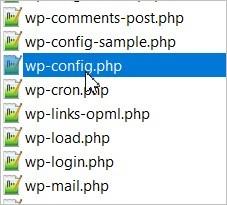 Modifier WP Config